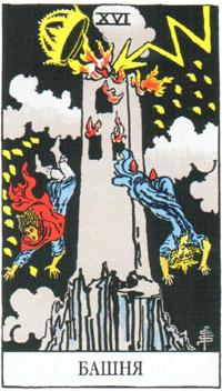 Башня карта таро
