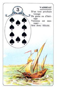 Колода Ленорман - карта корабль