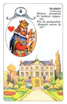 Колода Ленорман - карта дом