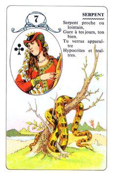 Колода Ленорман - карта змея