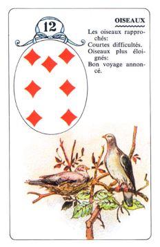 Колода Ленорман - карта совы