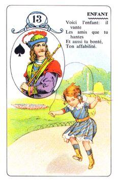 Колода Ленорман - карта ребенок