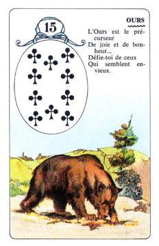 Колода Ленорман - карта медведь