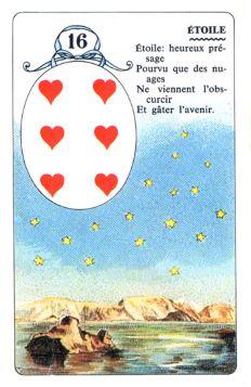 Колода Ленорман - карта звезды