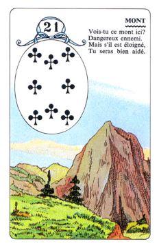 Колода Ленорман - карта гора