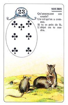 Колода Ленорман - карта крысы