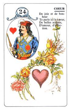 Колода Ленорман - карта сердце